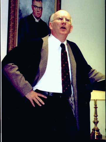 Howard Burnham as CS Lewis